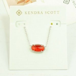 Kendra Scott Elisa Ruby Red NWOT *Slight Flaw*